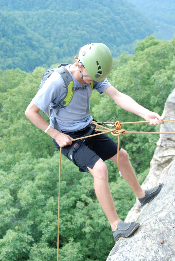 Sanuk Vagabonds: So sturdy I can even execute a rappel in them!