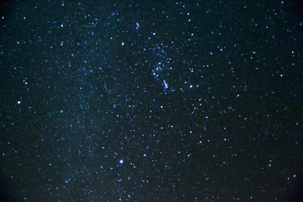 The stars and the milky way from our campsite (Photo by Manuel Castro)