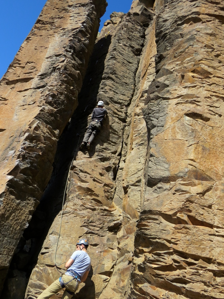 Leading a pitch at Vantage