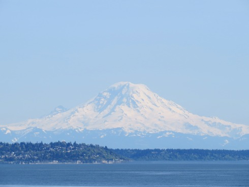 Rainier over Puget Sound