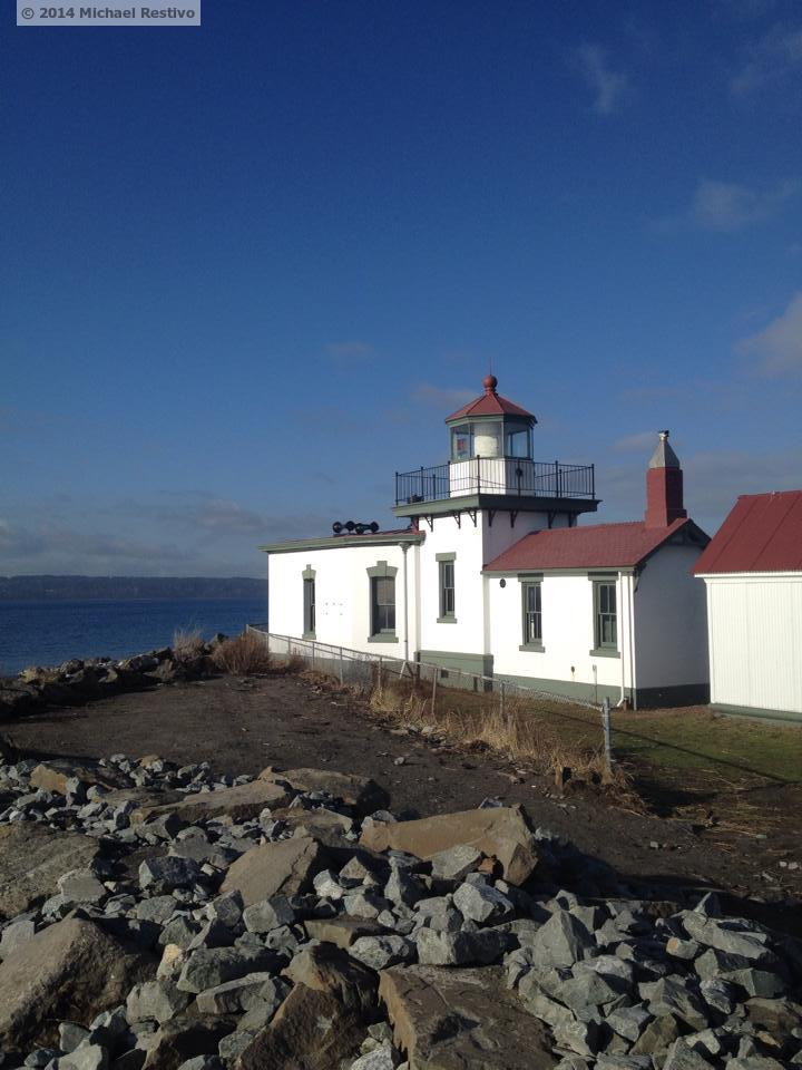 The lighthouse at Discovery Park
