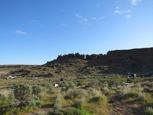 The Frenchman's Coulee Basin of Vantage, Washington