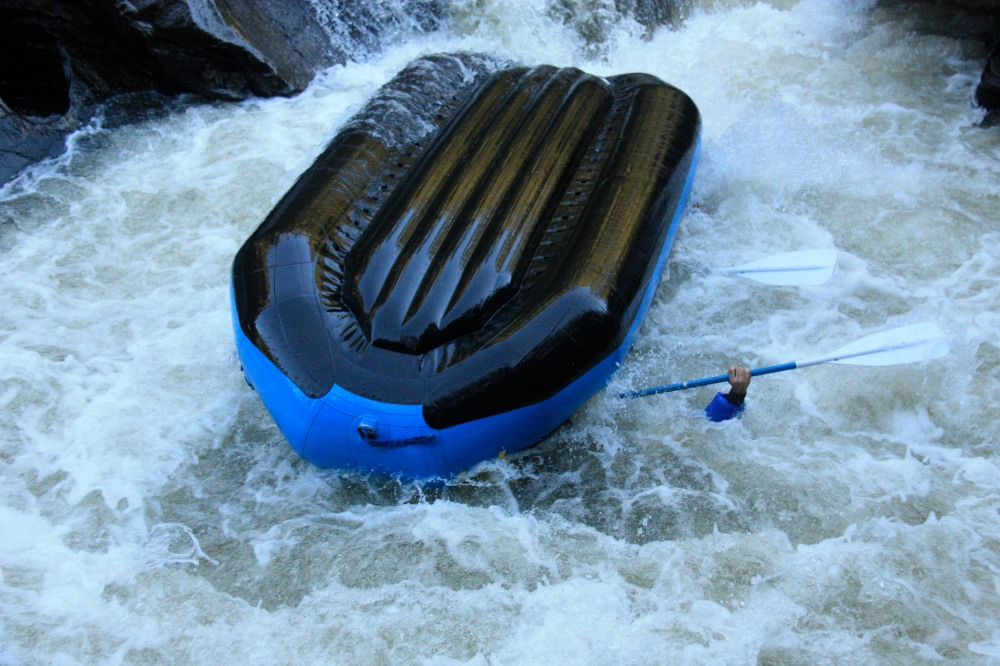 Pictured: Rafting