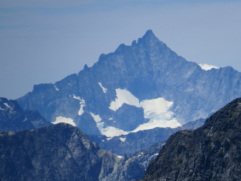 Forbidden Peak - West Ridge is the entire left side