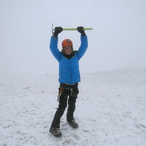Summit of Rainier - August 12, 2014