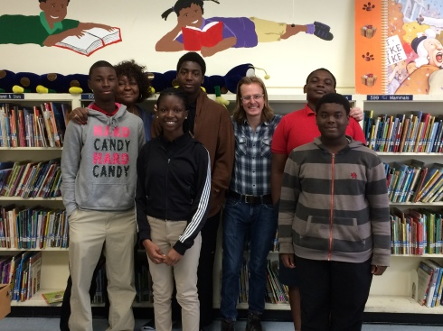 The journalism class at Edison Park K-8, which I had the pleasure of teaching for an hour.