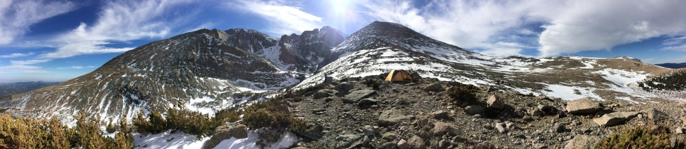 The Longs Peak / Mt. Meeker massif