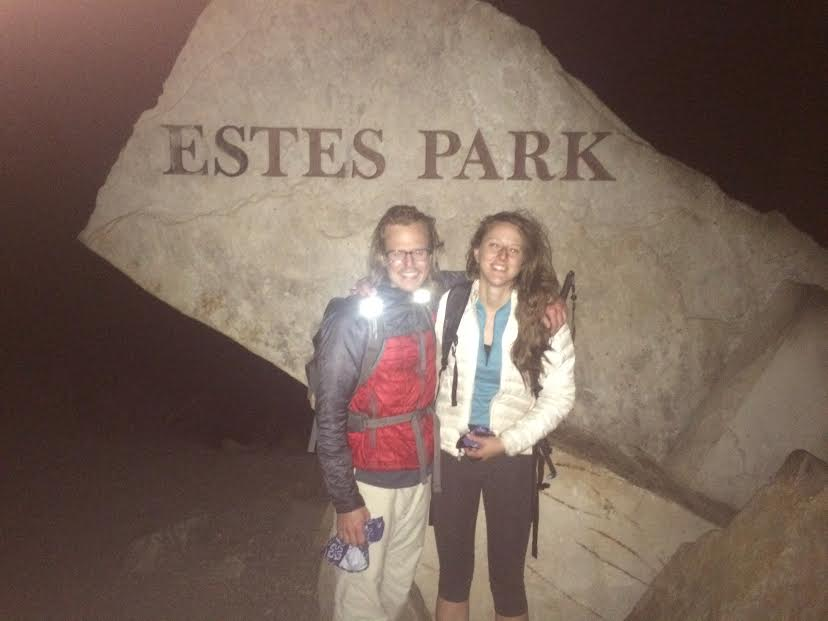 Exhausted finish in Estes Park.