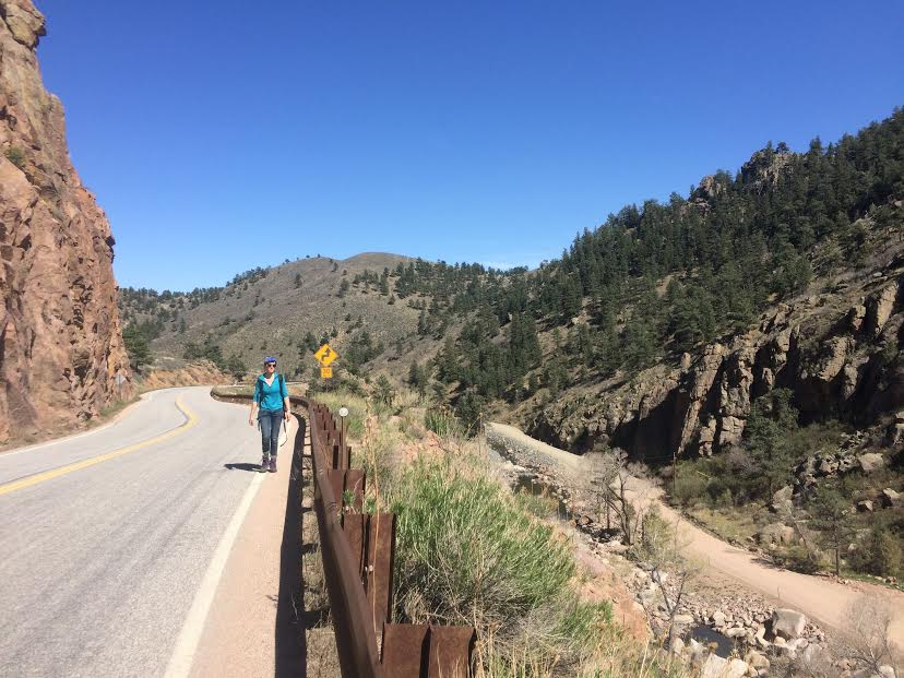 The canyon after Lyons